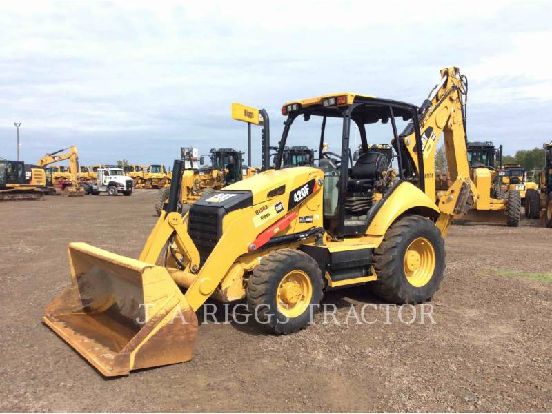 CATERPILLAR RETROEXCAVADORAS CARGADORAS 420F 4E equipment  photo 1
