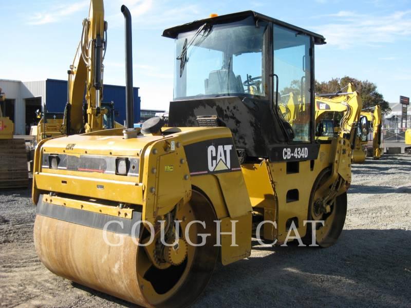 CATERPILLAR TANDEMOWY WALEC WIBRACYJNY DO ASFALTU (STAL-STAL) CB434D equipment  photo 3