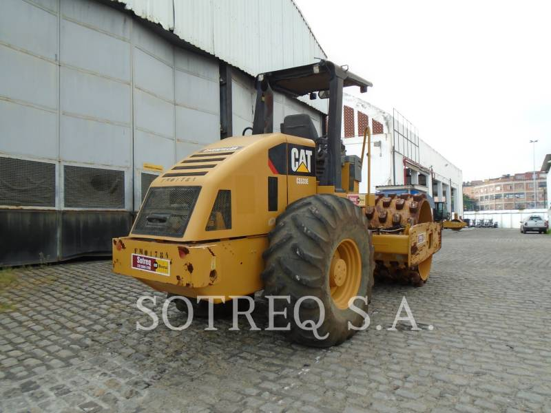 CATERPILLAR SOPORTE DE TAMBOR ÚNICO VIBRATORIO CP-533E equipment  photo 4