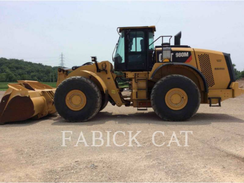 CATERPILLAR PALE GOMMATE/PALE GOMMATE MULTIUSO 980M equipment  photo 6