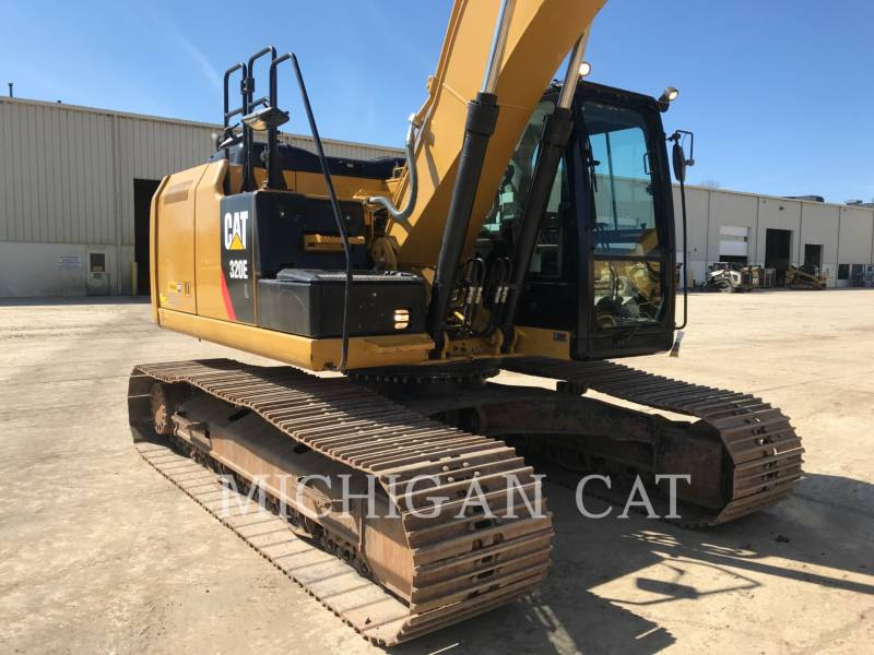 CATERPILLAR KETTEN-HYDRAULIKBAGGER 320EL PQ equipment  photo 14