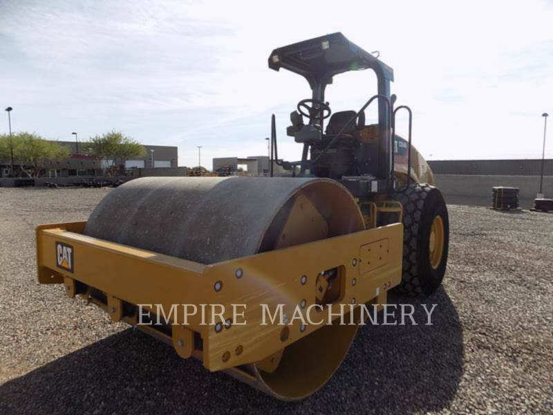 CATERPILLAR EINZELVIBRATIONSWALZE, GLATTBANDAGE CS54B equipment  photo 4
