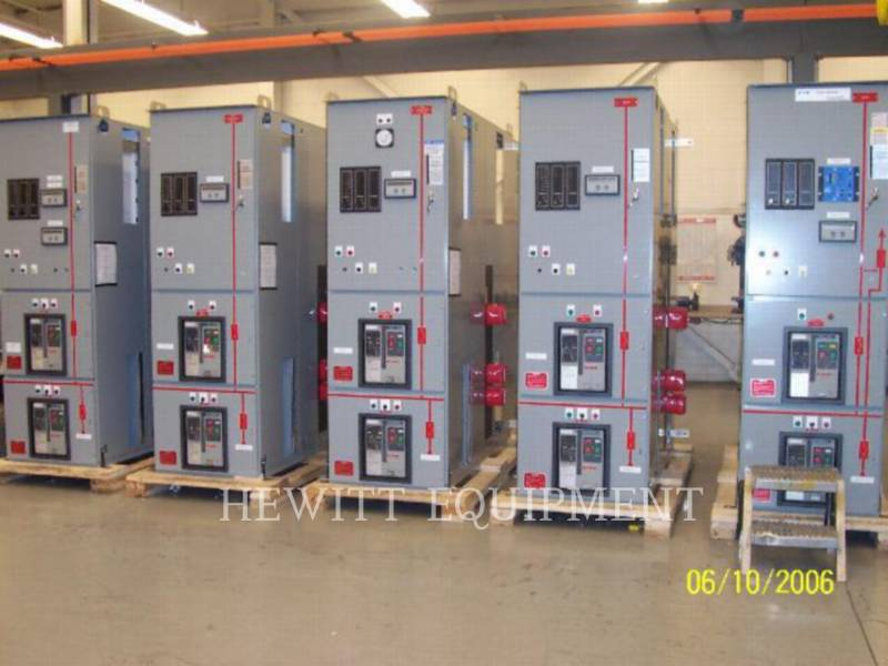 CUTTLER HAMMER COMPONENTES DE SISTEMAS SWITCHGEAR 5000A equipment  photo 2