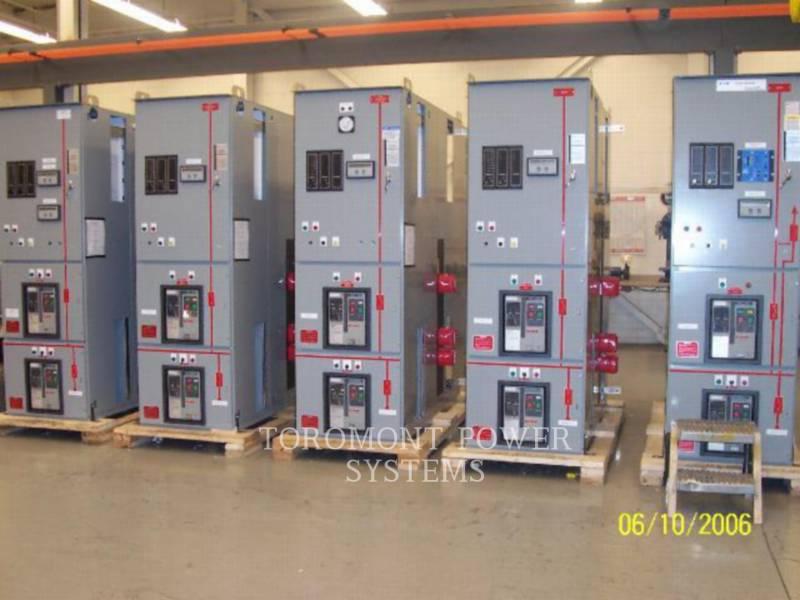 CUTTLER HAMMER COMPONENTES DE SISTEMAS SWITCHGEAR 5000A equipment  photo 2