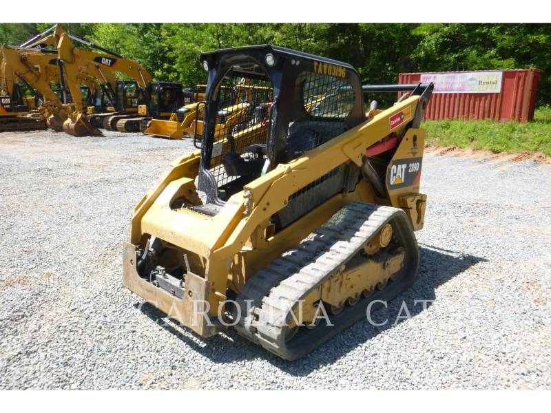 CATERPILLAR CARGADORES DE CADENAS 289D equipment  photo 1