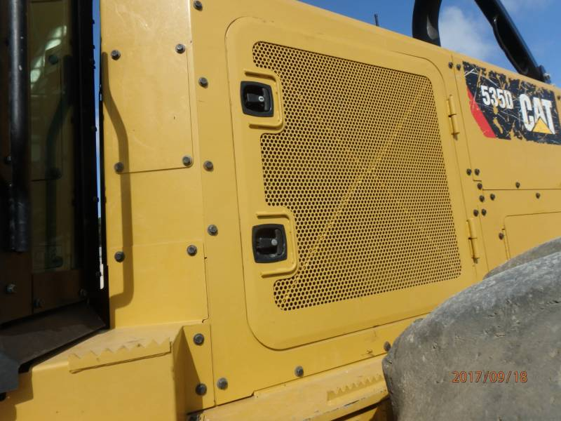 CATERPILLAR EXPLOITATION FORESTIÈRE - DÉBARDEURS 535D equipment  photo 16