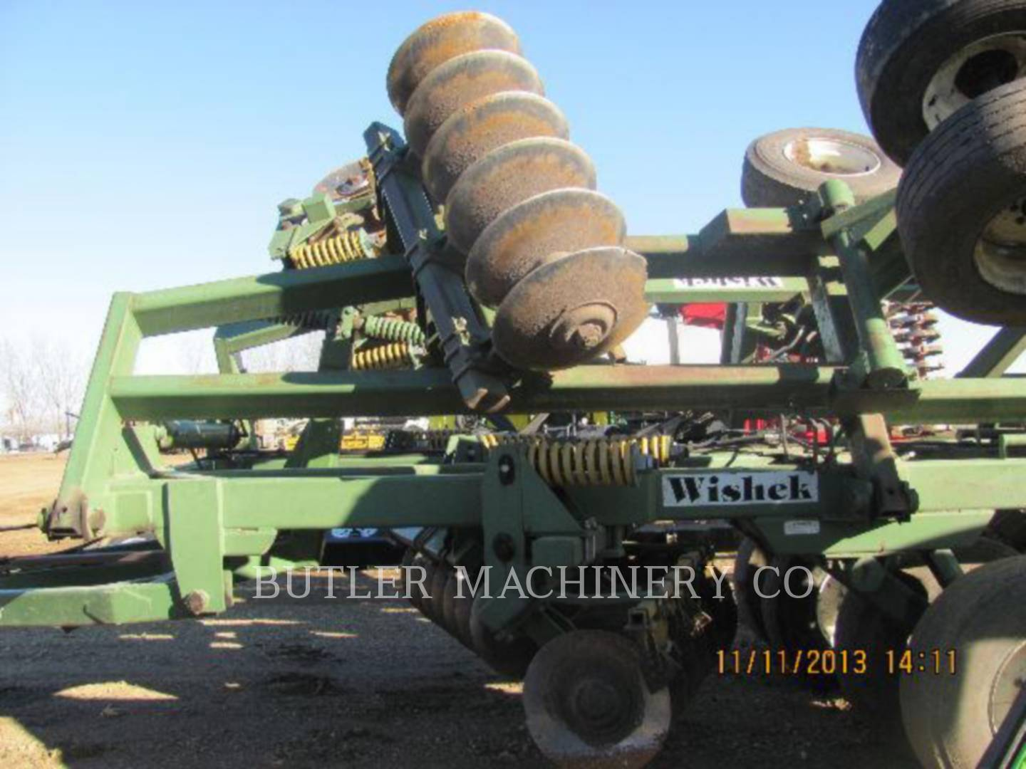 Detail photo of 2002 WISHEK 842NT-24 from Construction Equipment Guide