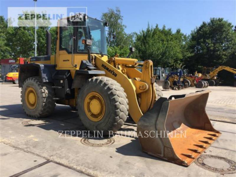 KOMATSU LTD. WHEEL LOADERS/INTEGRATED TOOLCARRIERS WA270PT equipment  photo 2