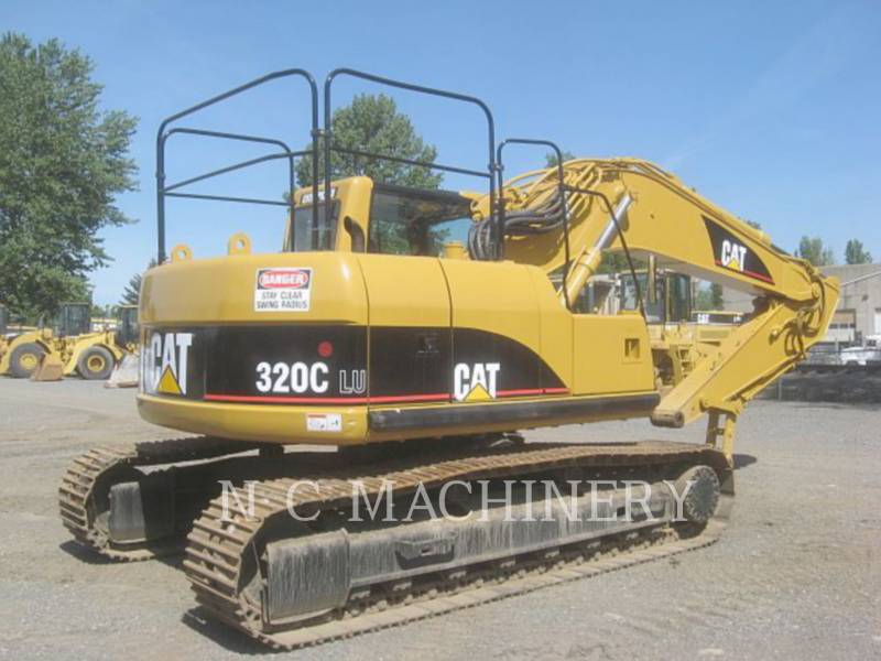 CATERPILLAR TRACK EXCAVATORS 320C U equipment  photo 3