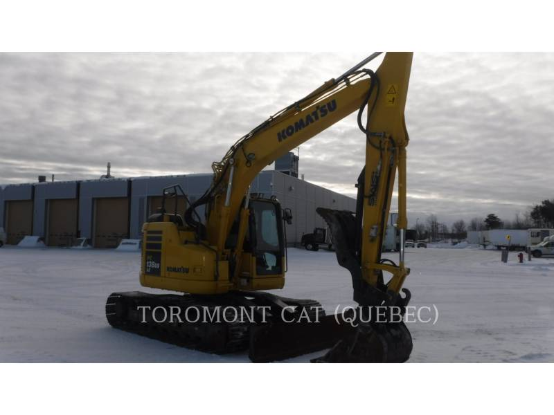 KOMATSU PELLES SUR CHAINES PC138 US LC equipment  photo 2
