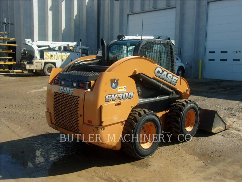 CASE/NEW HOLLAND SKID STEER LOADERS SV300 equipment  photo 4