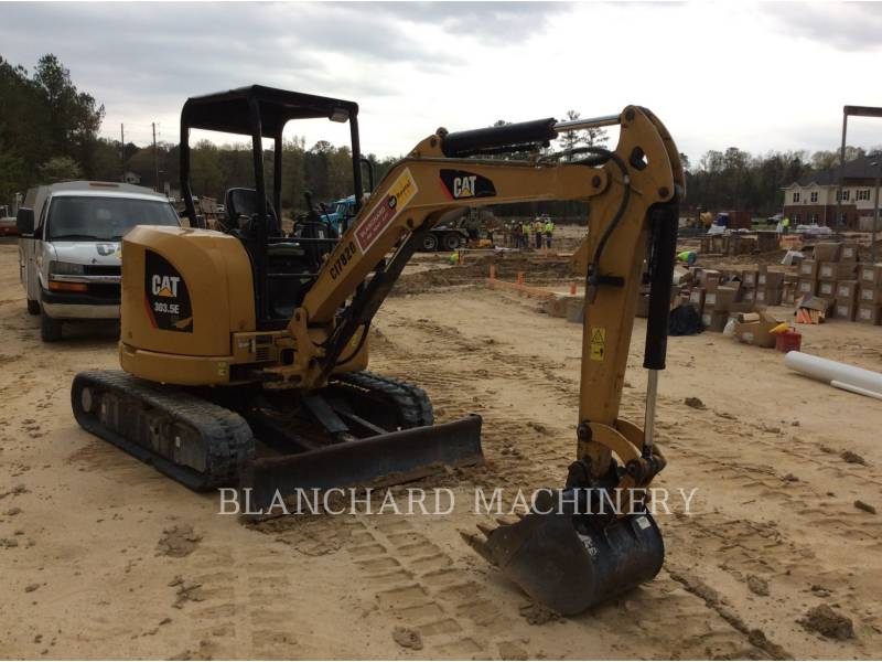 Caterpillar EXCAVATOARE PE ŞENILE 303.5E equipment  photo 2