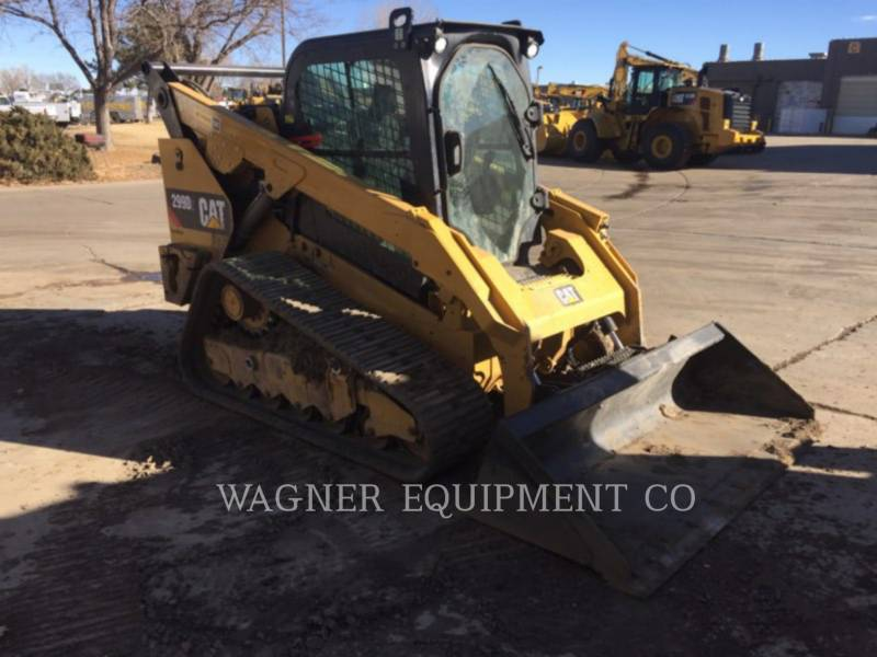 CATERPILLAR CHARGEURS COMPACTS RIGIDES 299D2 equipment  photo 2