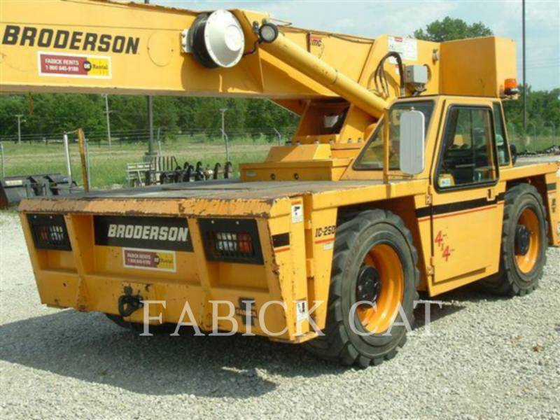 BRODERSON CRANE GRUES IC250-C3 equipment  photo 1