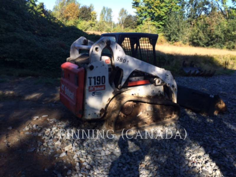 BOBCAT CHARGEURS TOUT TERRAIN T190 equipment  photo 3