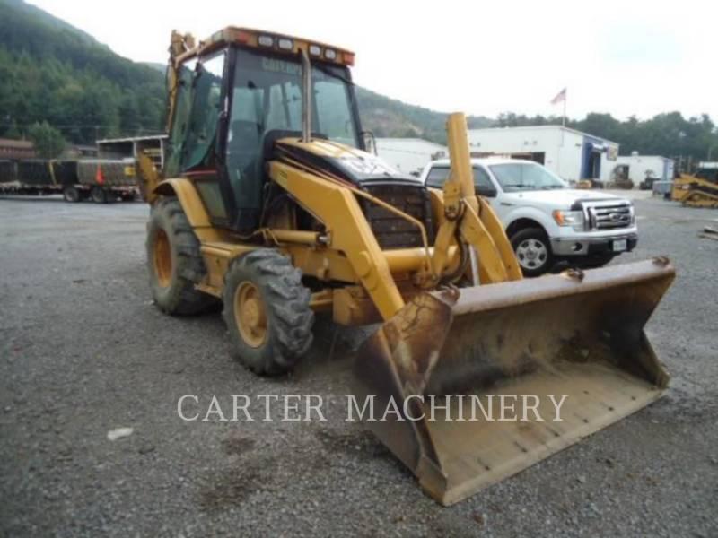 CATERPILLAR BAGGERLADER 420D equipment  photo 2