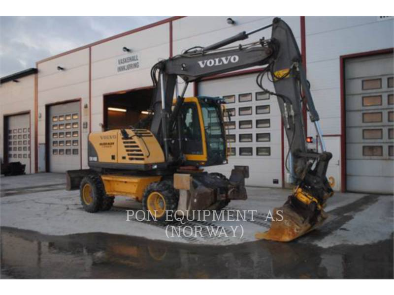 VOLVO CONSTRUCTION EQUIPMENT ESCAVADEIRAS DE RODAS EW140B equipment  photo 4
