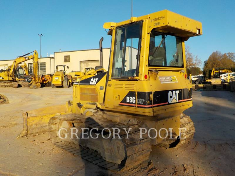 CATERPILLAR KETTENDOZER D3G equipment  photo 9