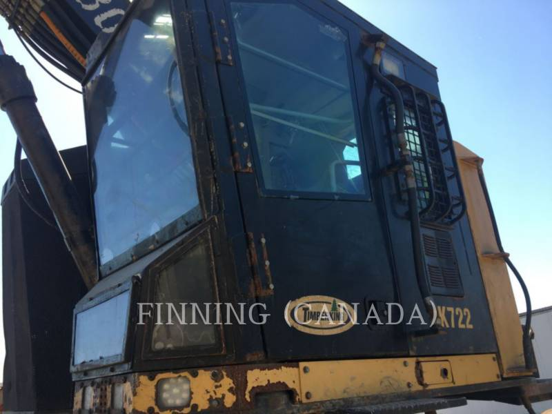 CATERPILLAR FORESTRY - FELLER BUNCHERS - TRACK TK722 equipment  photo 7