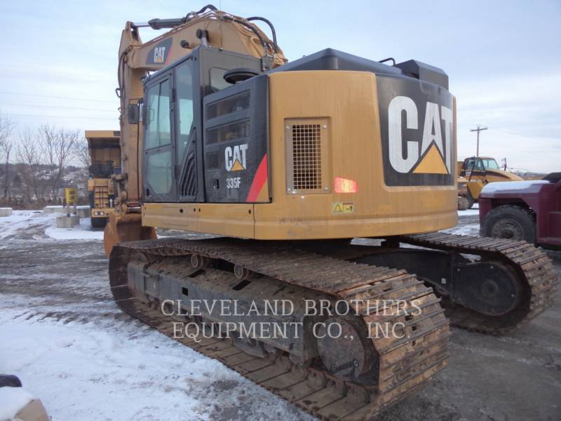 CATERPILLAR トラック油圧ショベル 335FLCR equipment  photo 2