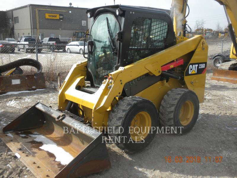 CATERPILLAR SCHRANKLADERS 236D equipment  photo 1