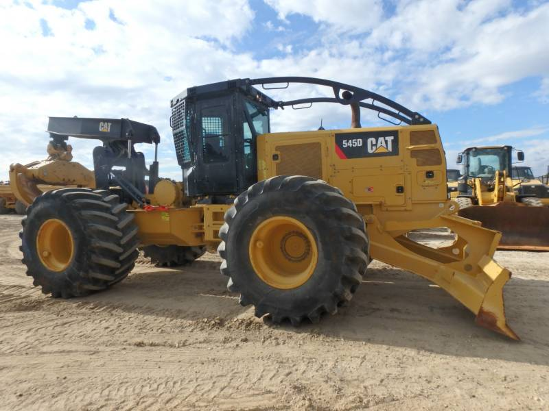 CATERPILLAR SILVICULTURA - TRATOR FLORESTAL 545D equipment  photo 5