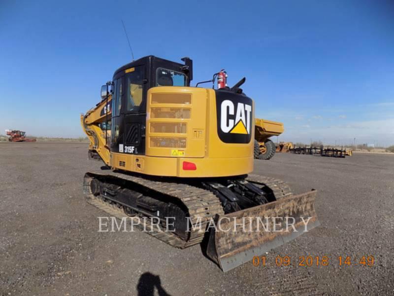 CATERPILLAR KETTEN-HYDRAULIKBAGGER 315FLCR equipment  photo 3