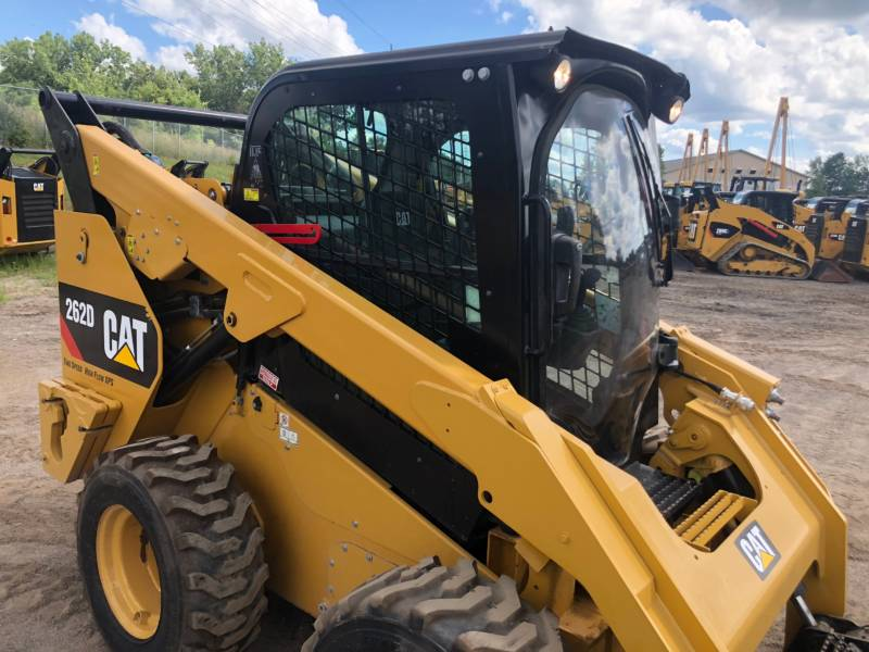 CATERPILLAR SKID STEER LOADERS 262 D equipment  photo 7