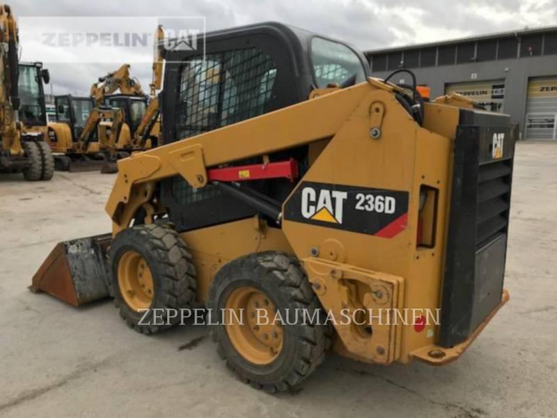 CATERPILLAR MINICARGADORAS 236D equipment  photo 3