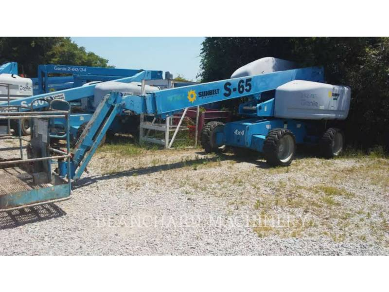 GENIE INDUSTRIES LIFT - BOOM S-65 equipment  photo 1
