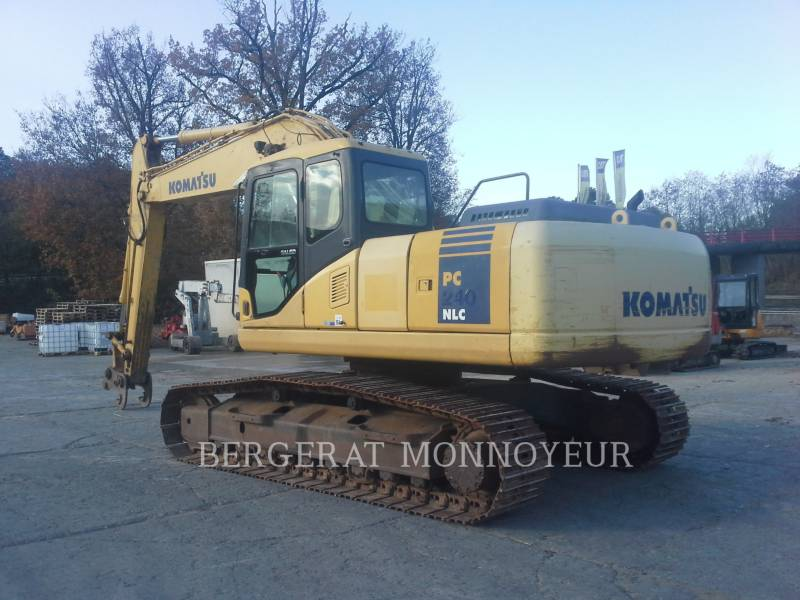 KOMATSU EXCAVADORAS DE CADENAS PC210 equipment  photo 9
