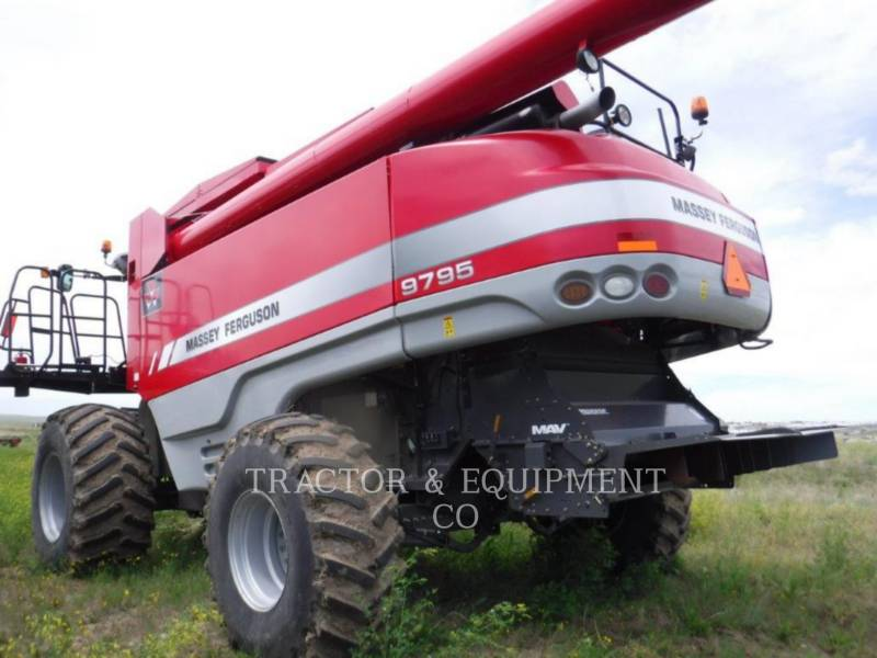 MASSEY FERGUSON COMBINES 9795 equipment  photo 4