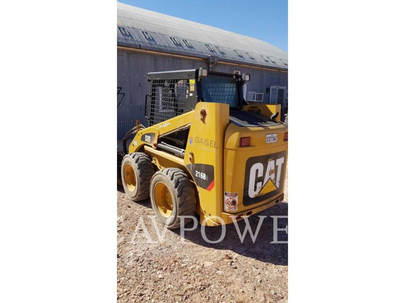 CATERPILLAR SCHRANKLADERS 216B3LRC equipment  photo 4