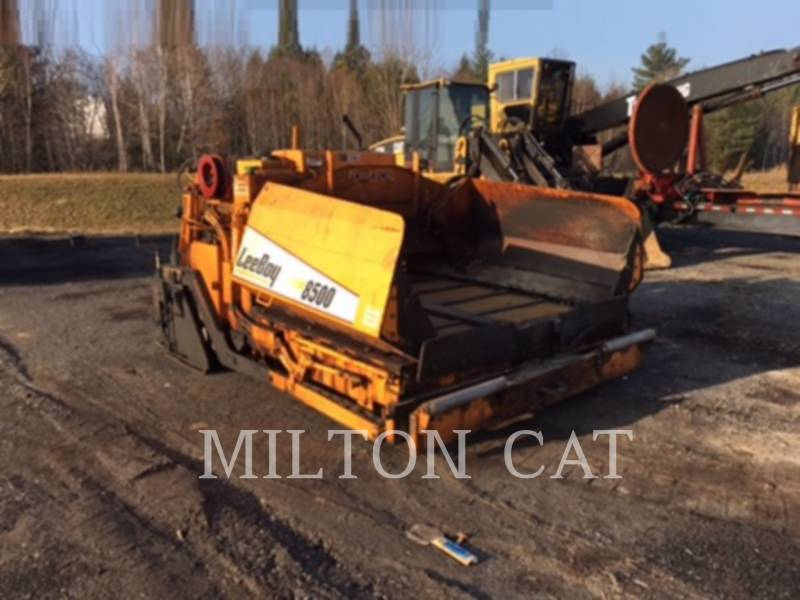 LEE-BOY ASPHALT PAVERS 8500LD equipment  photo 3