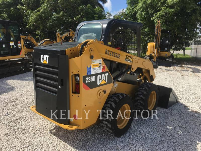 CATERPILLAR SKID STEER LOADERS 236D equipment  photo 5