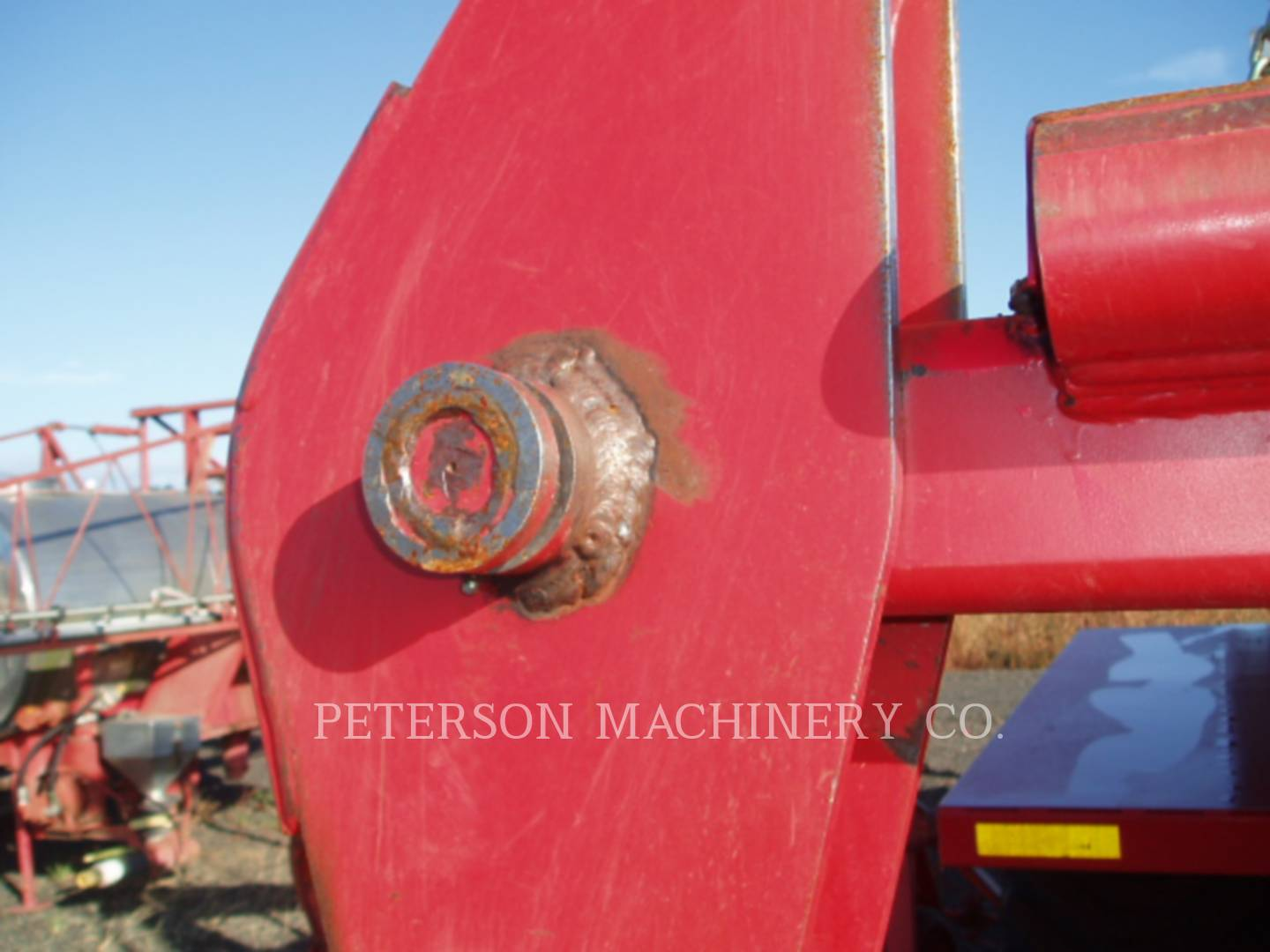 Detail photo of 2008 PRO AG 16K BALE STACKER from Construction Equipment Guide