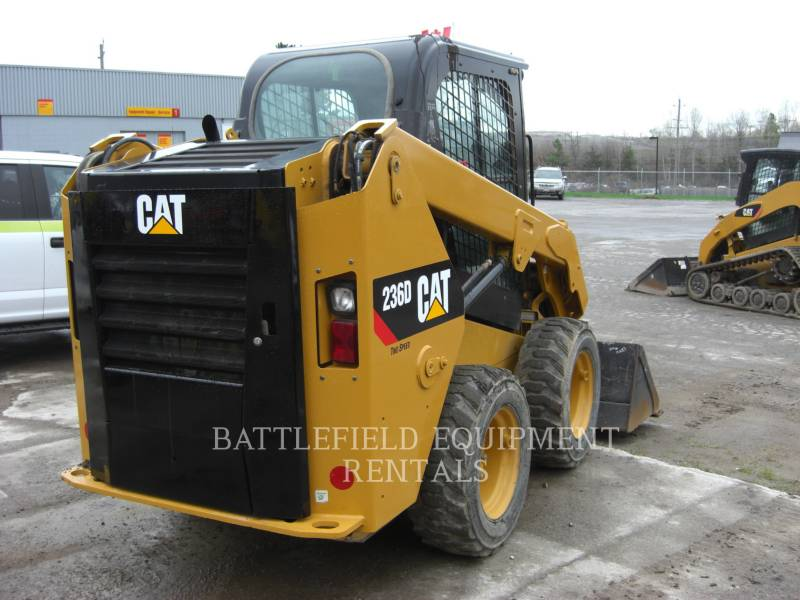 CATERPILLAR SKID STEER LOADERS 236DLRC equipment  photo 4