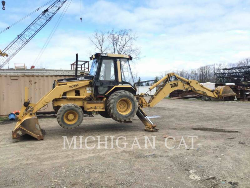 CATERPILLAR RETROEXCAVADORAS CARGADORAS 416B C equipment  photo 12