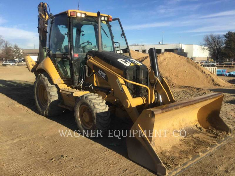 CATERPILLAR BACKHOE LOADERS 420E 4WD equipment  photo 2