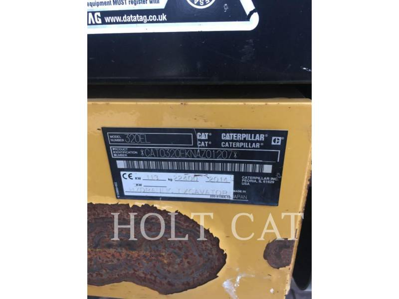CATERPILLAR ESCAVADEIRAS 320EL equipment  photo 5