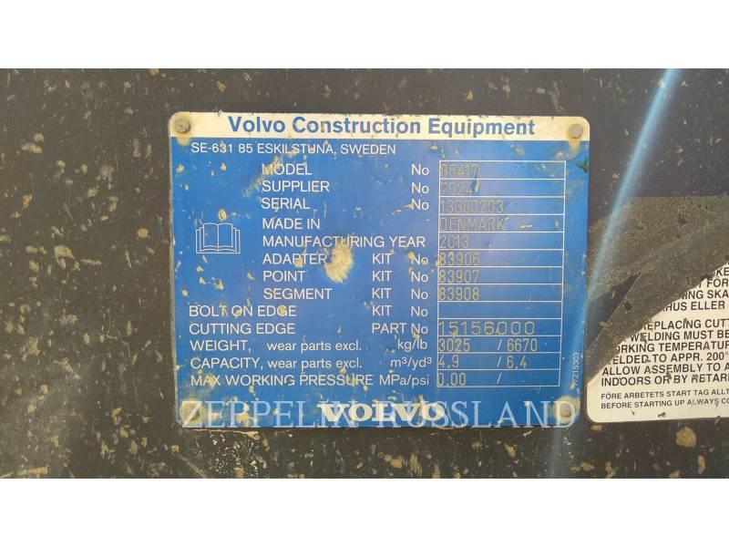 VOLVO CONSTRUCTION EQUIPMENT CARGADORES DE RUEDAS PARA MINERÍA L220G equipment  photo 13