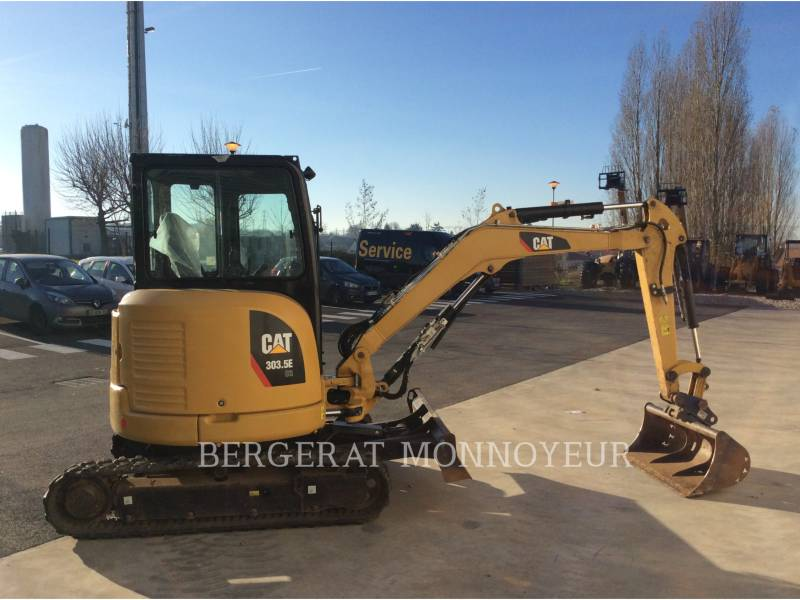 CATERPILLAR TRACK EXCAVATORS 303.5E CR equipment  photo 5
