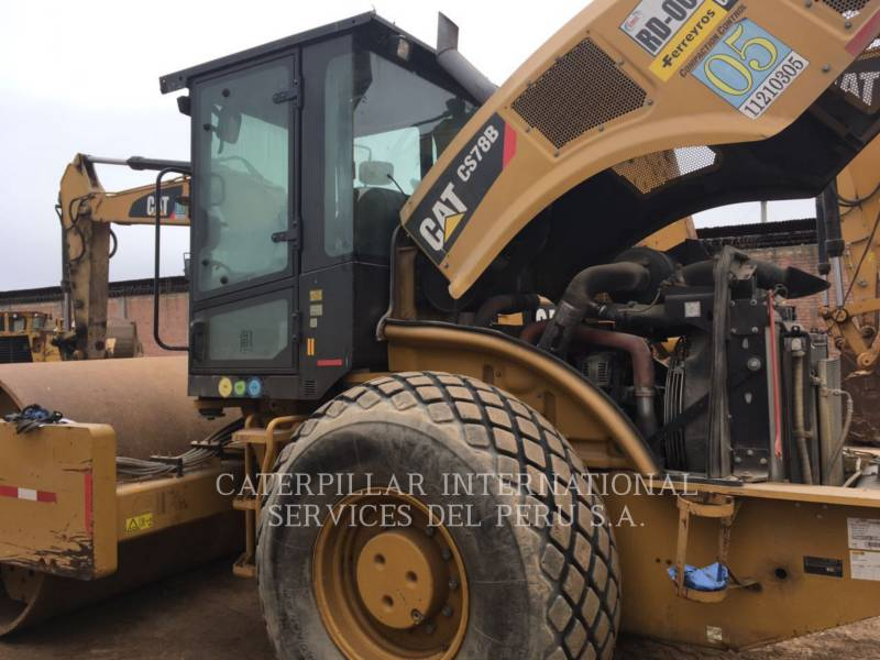 CATERPILLAR EINZELVIBRATIONSWALZE, GLATTBANDAGE CS 78 B equipment  photo 7
