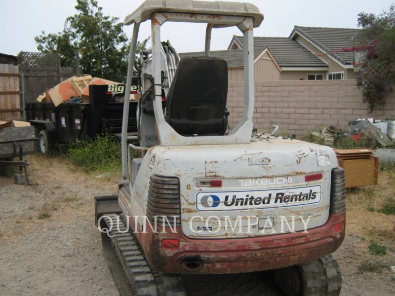 TAKEUCHI MFG. CO. LTD. TRACK EXCAVATORS TB135 equipment  photo 4