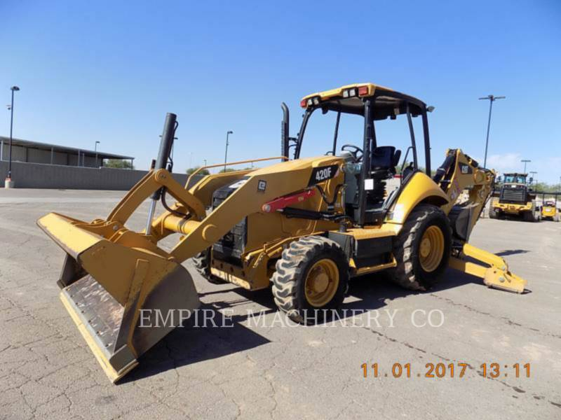 CATERPILLAR CHARGEUSES-PELLETEUSES 420F 4EOM equipment  photo 4