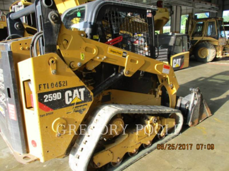 CATERPILLAR MULTI TERRAIN LOADERS 259D N equipment  photo 3