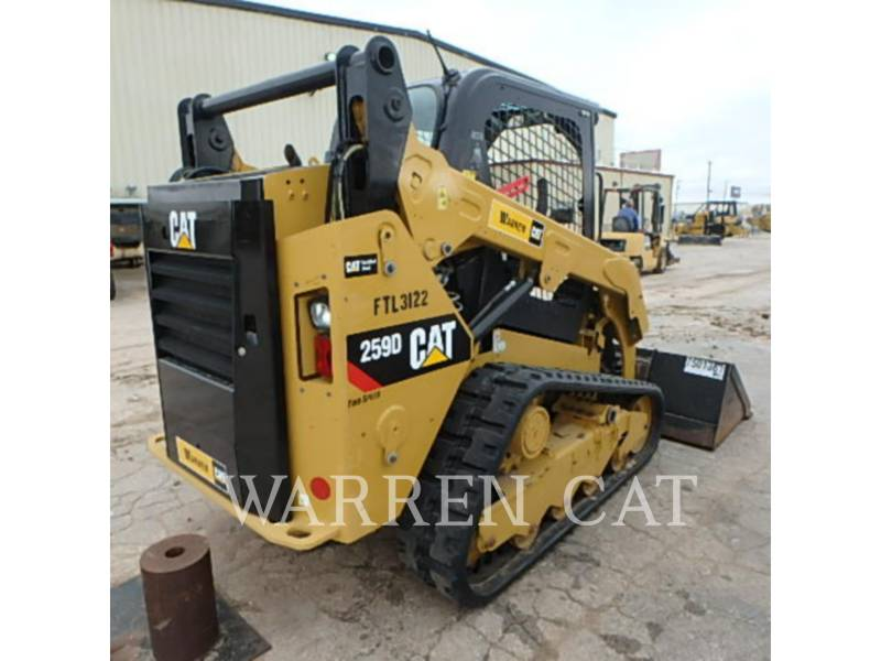 CATERPILLAR CARGADORES DE CADENAS 259D equipment  photo 9