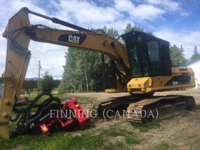 CATERPILLAR Forestal - Procesador 320DFMHW equipment  photo 1