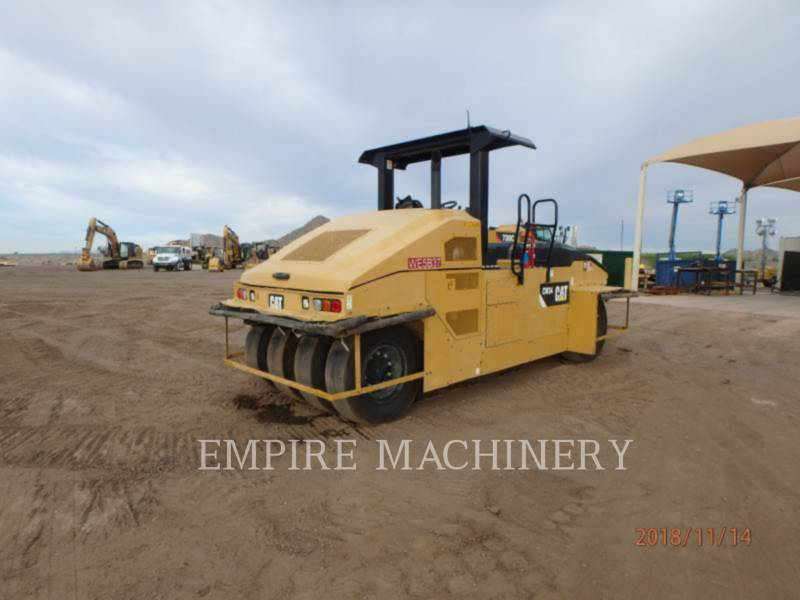 CATERPILLAR GUMMIRADWALZEN CW34 equipment  photo 1