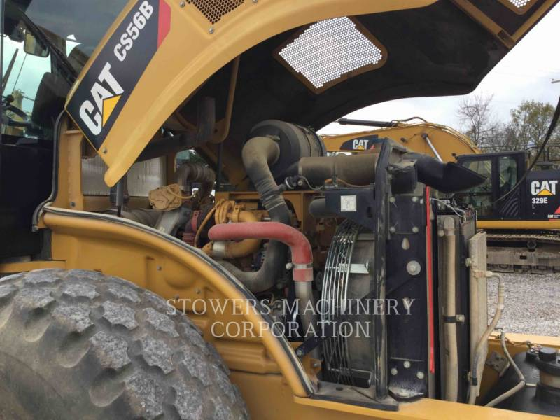 CATERPILLAR VIBRATORY SINGLE DRUM SMOOTH CS56B equipment  photo 8